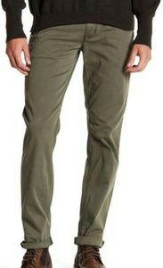 Hudson Blake Slim Leg Jeans Infantry Green